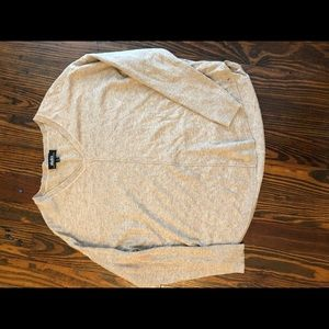 LULUS TAN LIGHT SWEATER SIZE M